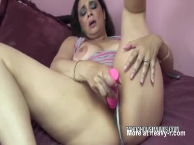 Masturbating Housewife