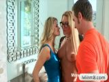 Mature Jennifer Best threesome action