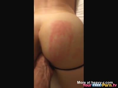 Ass Spanking Teen