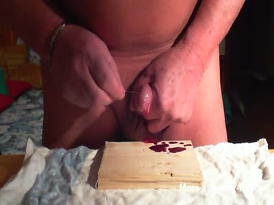 Putting Needles In My Cock