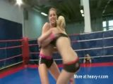 Girls Eat Pussy After Wrestling