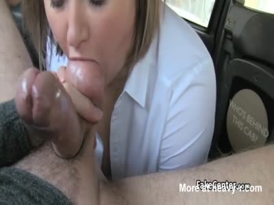 Sticky Facial For Fat Mature In Taxi