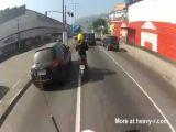 Suicidal Biker