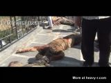 Syrian Soldiers Beheaded and put on Display