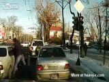 Road Rage in Kazakhstan