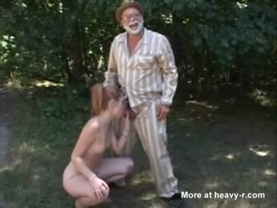 Creepy Grandpa Goes Dirty On Granddaughter