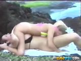 69 Oral Sex On Cliff