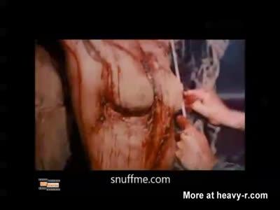 Extreme Brutal Snuff Torture Scene