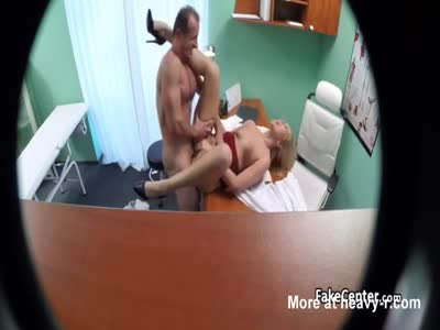 Blonde Nurse Fucking Doctor