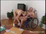 Old Grandpa Has Sex With Young Nurse