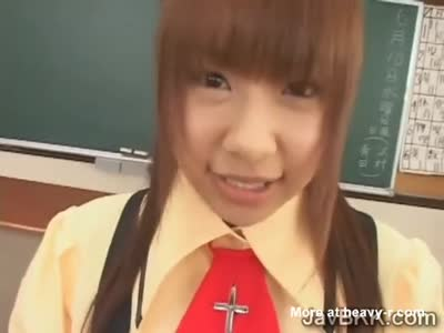 Jap teen milks her teachers and classmates hard dicks