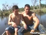 Latino Gay Lovers Fucking Outdoors