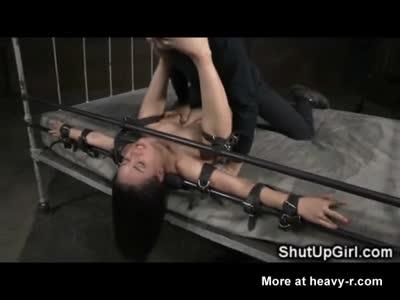 Bound Petite Slut Brutally Destroyed