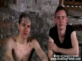 Gay XXX His hard-on is encaged and incapable to spring