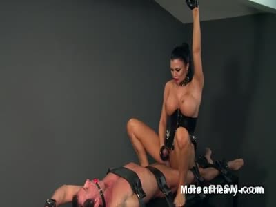 Gagged Slave Ride By Mistress
