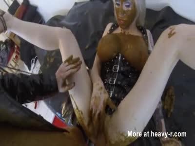 slut Caught Scat Masturbating Get fucked