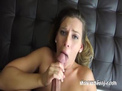 Amateur Blonde Fucked POV