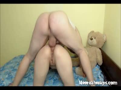 Brunette Teen Slut In Extreme Cock Ride