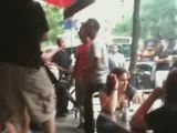 Restaurant Street Fight
