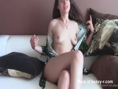 Webcam Teen Leaves Only Socks On