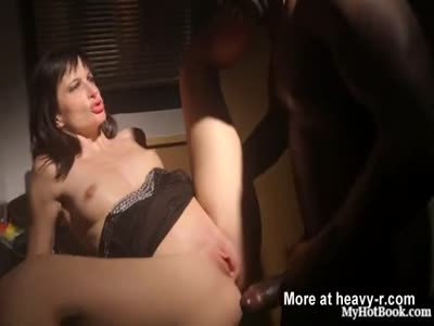 Ava Courcelles Smashes In The Office