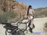 Slave Girl Carriage Ride