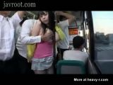 Busty Asian Fucked On Busy Train