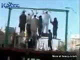 Public Hanging Of Three Men