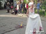 Psycho Woman In Public
