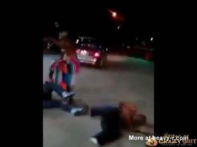 Bad Bitch Knocking Motherfuckers Out