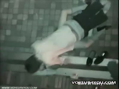 Hidden Cam Caught Young Couple Fucking