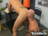Young guy gets fucked at work