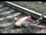 Man is still alive after train suicide