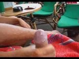 Handjob in restaurant