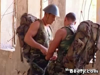 Beefy Military Experience The Wild Fucking Outdoor