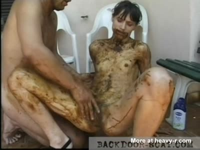 Scat Couple Playing Outdoors