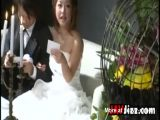 Japanese Bride Fucked On Her Wedding Day