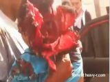 Ataque na syria - Acidente esmaga cabeça de homem