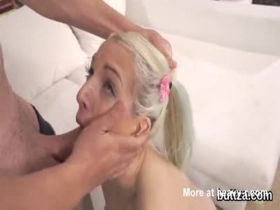 Slender Teen Drilled In Mouth