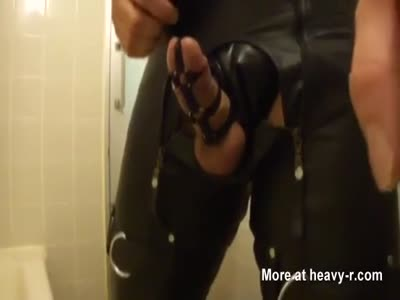 leather scatslave