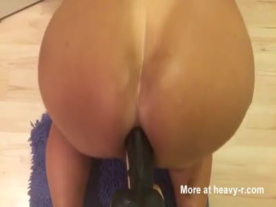 Ass Fucking Big Dildo
