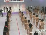Nude Japanese Women Stretching