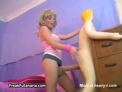 Futanaria Anal Fucking Sex Doll