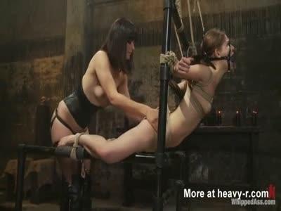 Petite Slave Endure Bondage Pain And Abuse