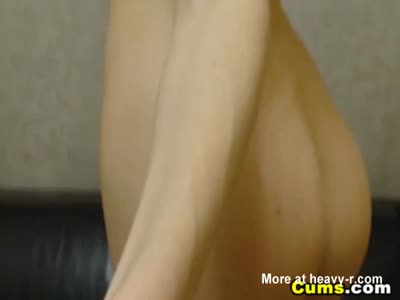 Webcam Babe Sucks And Rides Her Toy