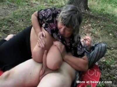 Threesome With Teen And Elderly Couple
