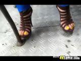 Sexy Latina Feet In Heels