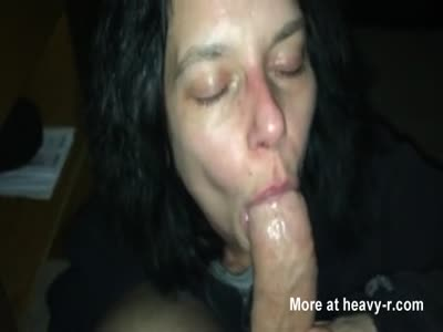 Crackwhore Sucking Cock