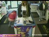 Woman Caught Pissing In Shop