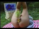 Picnic serving Corn on the Cob Pussy